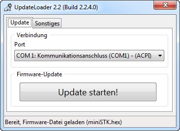 UpdateLoader Bildschirmfoto #3