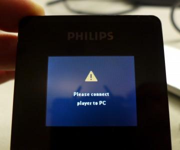 HDD6320 Fehlermeldung