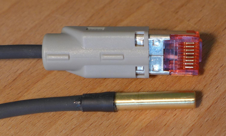 µProjekt: APC AP9335T Temperatursensor Nachbau