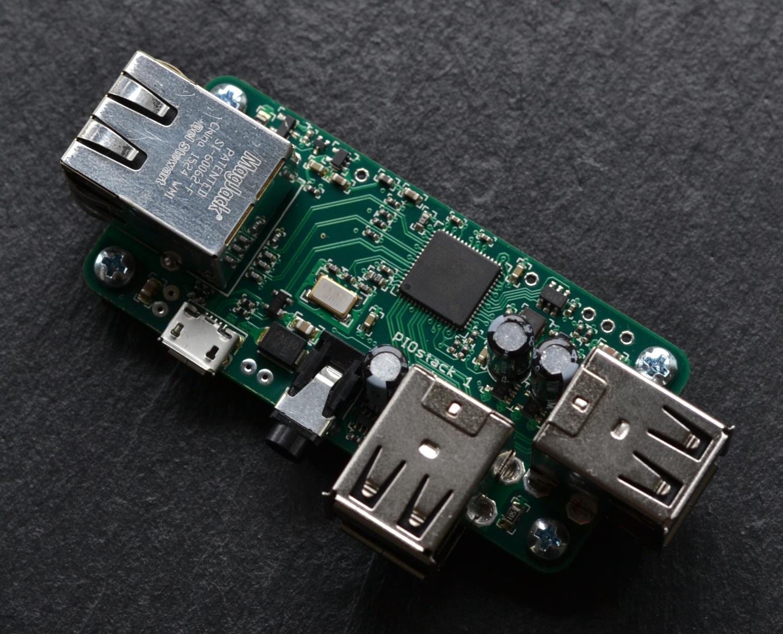 PIOstack 1: LAN & USB für Pi Zero – Prototyp funktioniert!