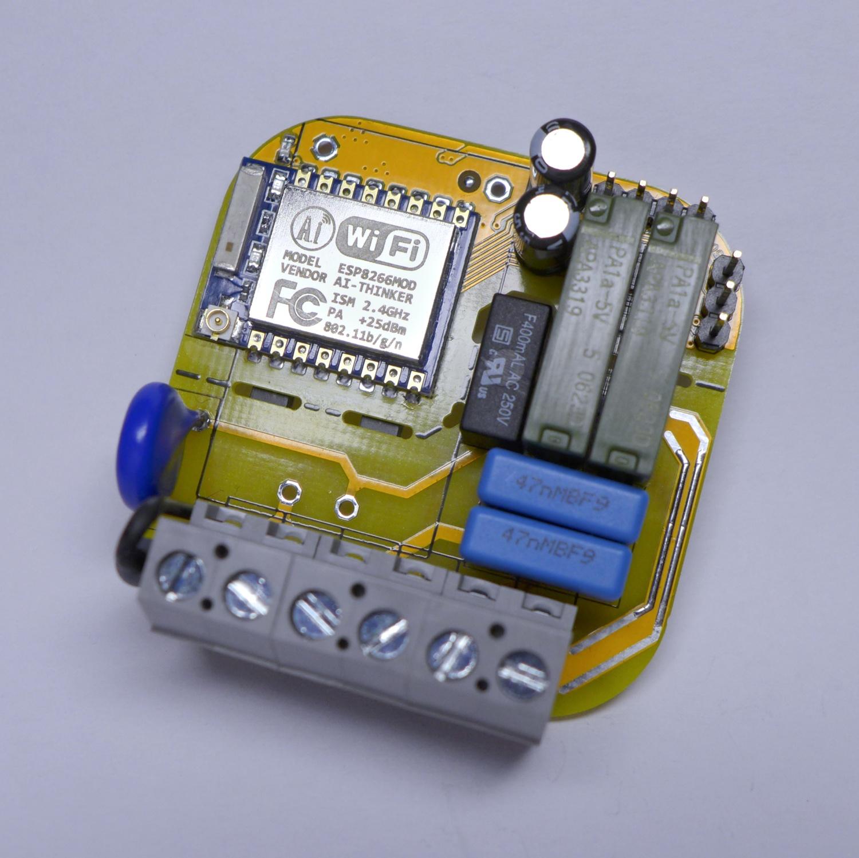 230V I/O Modul für ESP8266 (ESP-07) – LUANI